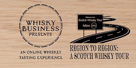 Region to Region: A Scotch Whisky Tour tickets