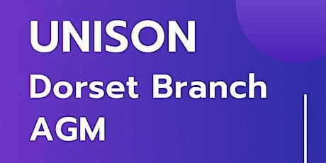 Dorset Branch AGM tickets