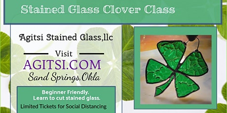 Stained Glass Clover Make And TAKE tickets
