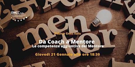 Da Coach a Mentore: le competenze aggiuntive del mentore tickets