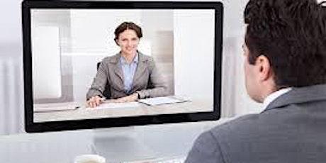 Webinar Emplea: Cómo impactar en una entrevista virtual. entradas