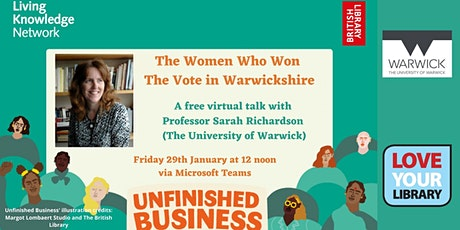 The Women Who Won The Vote In Warwickshire with Professor Sarah Richardson tickets