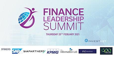 Finance Leadership Summit 2021 tickets