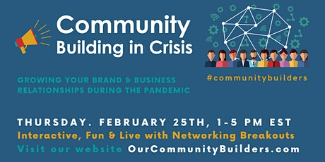 Community Building in Crisis tickets