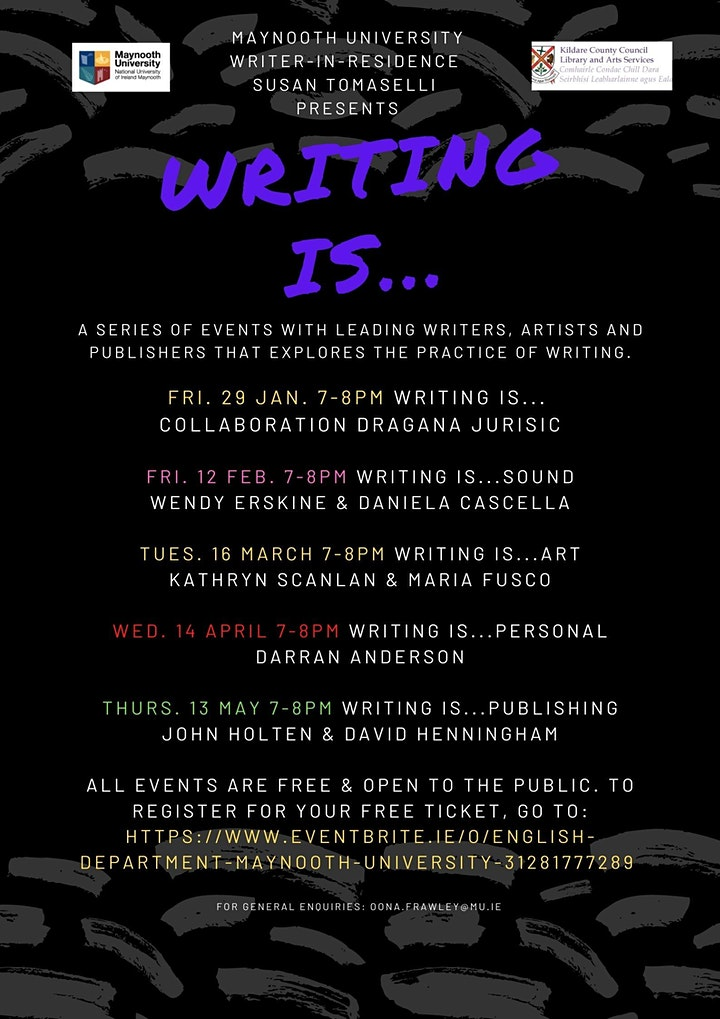 Writing is...…Collaboration / with Dragana Jurišić image