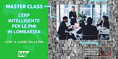 L'ERPintelligente per le PMI in Lombardia - ERP, il cuore della PMI biglietti