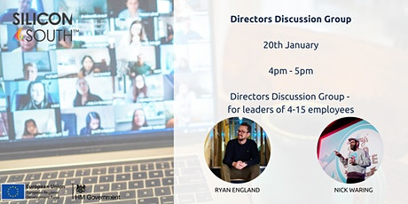 Directors Discussion Group - for leaders with 4-15 employees tickets