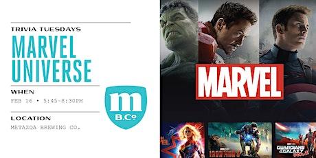 Marvel Universe Trivia tickets