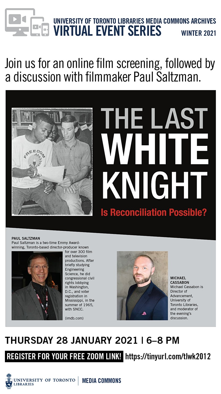 "Film Screening & Discussion: ""The Last White Knight"" (2012) image"
