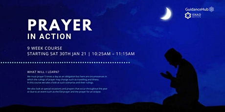 Prayer in Action - (Every Sat from 30th Jan - ONLINE | 9 Weeks | 10:25AM) tickets