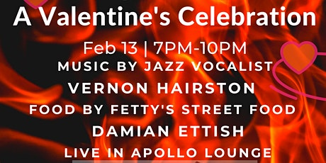A Valentine's Celebration. Vernon Hairston. Live In Apollo Lounge tickets