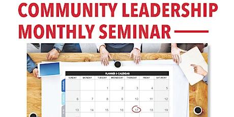 Community Leadership Seminar - Entrepreneurship tickets