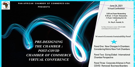 Pre-designing the Chamber : Post-Covid  Chamber Virtual Conference tickets