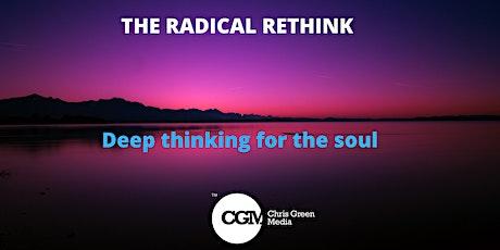 CGM Live Webinar - The Radical Rethink tickets
