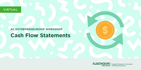 AC Entrepreneurship: Cash Flow Statements tickets