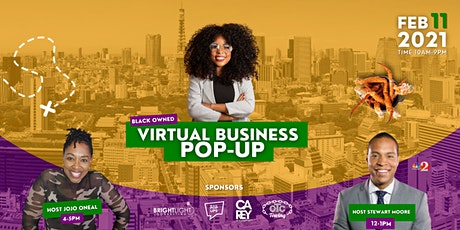 Black Owned Virtual Business Pop-UP tickets