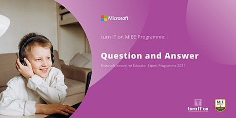 Microsoft Innovative Educator Expert Question and Answer tickets