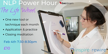 NLP Power Hour - The Life Wheel tickets