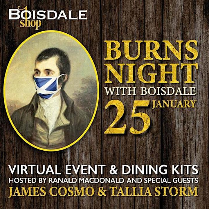 CELEBRATE BURNS NIGHT WITH BOISDALE image