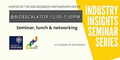 Industry Insights Seminar Series tickets