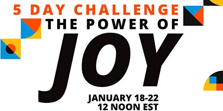 5-day JOY CHALLENGE for 2021 tickets
