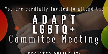 April 2021 LGBTQ+ Committee Meeting tickets