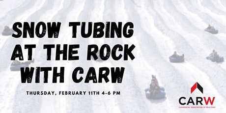 Snow Tubing at The Rock with CARW tickets
