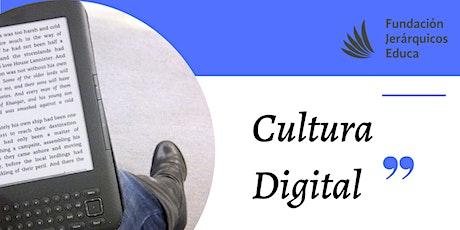"""Webinar gratuito: """"Cultura DIGITAL"""" entradas"""