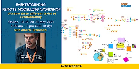 EventStorming Remote Modelling - May 2021 tickets