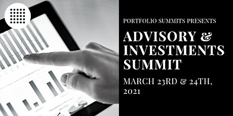 Advisory and Investments Summit tickets