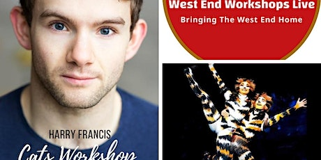 CATS WORKSHOP WITH HARRY FRANCIS tickets