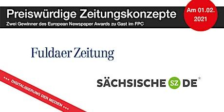 Preiswürdige Zeitungskonzepte – Zwei Gewinner des European Newspaper Awards tickets