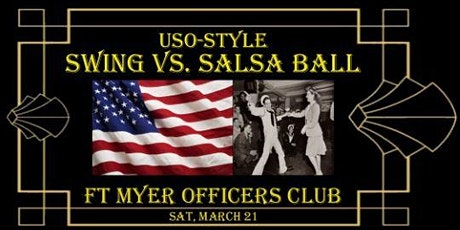 USO Style Salsa vs Swing Ball at Ft. Myers Officers Club tickets