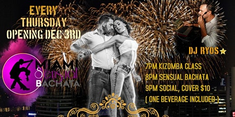 LATIN FEVER IN TAPEO, KIZOMBA AND SENSUAL BACHATA LESSONS, AND SOCIAL PARTY tickets