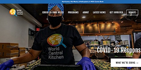 Free Online Yoga Class for World Central Kitchen tickets