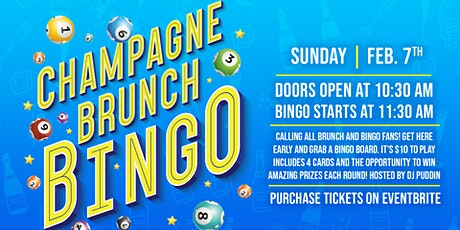 Champagne Bingo Brunch at Ink N Ivy Greenville, SC tickets