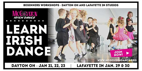 Beginner Irish Dance Workshop Dayton OH and Lafayette IN tickets