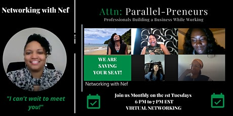 Virtual Parallel-Preneur Networking Event tickets