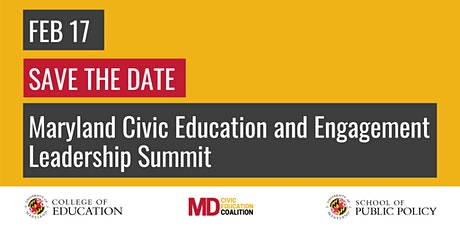 Maryland Civic Education Coalition Inaugural Leaders Summit tickets