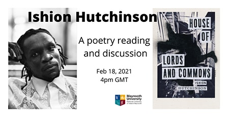 Ishion Hutchinson: poetry reading and conversation tickets