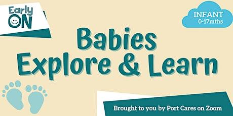 Babies Explore & Learn - Sensory Bottle tickets