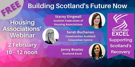 Housing Associations - Building Scotland's Future Now tickets
