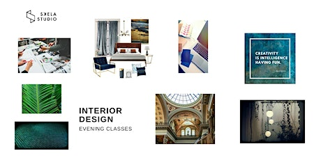 LIVE online interior design course (5 weeks - starts 1st of  March 2021) tickets