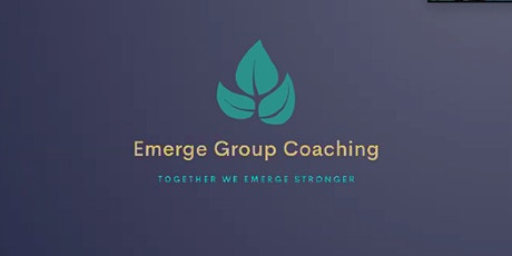 Emerge Group Coaching Programme, 3 sessions over 3 weeks, Wed evening tickets