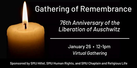 Gathering of Remembrance tickets