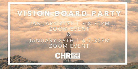 2021 Virtual Vision Board Party tickets