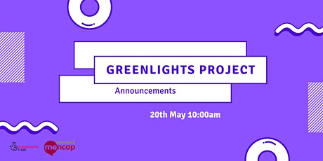 Announcements - Greenlights Project Workshop Series tickets