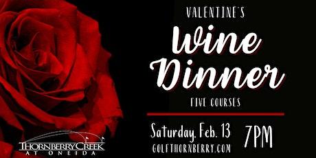 Valentine's Wine Dinner tickets