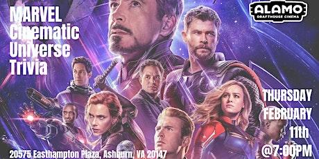 Marvel Cinematic Universe Trivia at Alamo Drafthouse Loudoun tickets