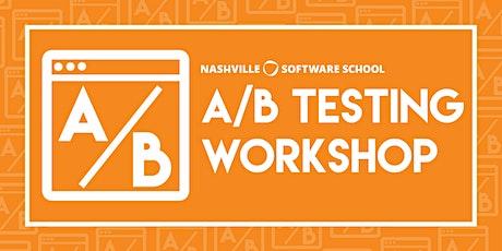 A/B Testing Workshop tickets